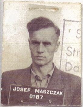 Осип Мащак. Під час арешту польською владою.